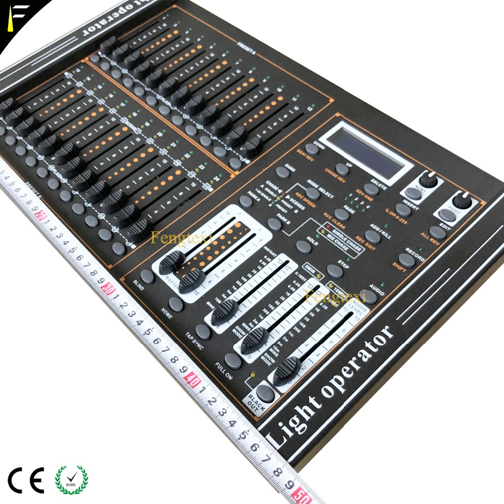 24 Channels DMX 512 Dimming Console Intelligent Dimmer Controller Table With LED Lighting For Show Affordable Free Shipping