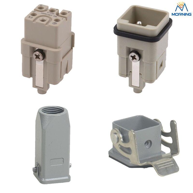 HQ-005 5+PE 230v/400v 16A Power heavy duty connectors дырокол deli heavy duty e0130