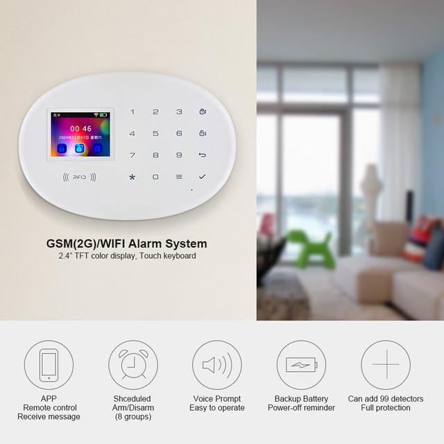 Kerui Wireless GSM Burglar Alarm System Is Compatible With Anti-pet Motion Detector 2
