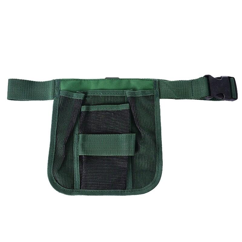 Hoomall Multifunctional Garden Tool Bags Waist Pockets Woodworking Waist Belt Tools Bag Electricians Tool Pouch Kit Bag 20x22cm