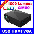 2016 1000Lumens New HD TV Home Cinema Projector HDMI LCD LED Game PC Digital Mini Projectors Support 1080P Proyector 3D Beamer