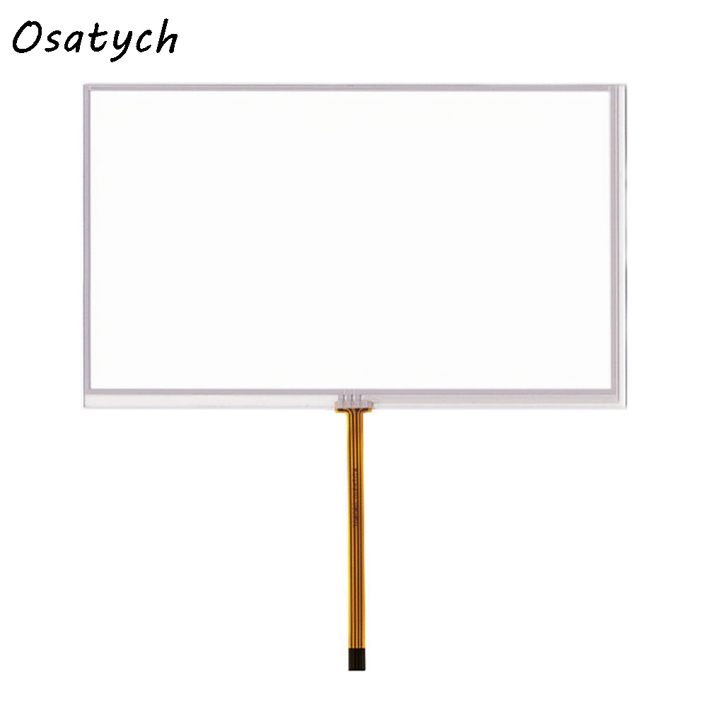 New 7 inch 4 Wires Resistive Touch Screen for Car DVD 164*99mm Panel Glass Free Shipping new 7 inch universal lcd touch screen gps aa232a 164 3x99 5mm with controller board touch panel glass free shipping