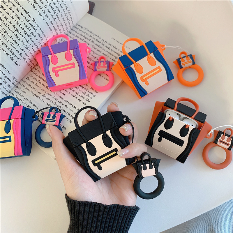 Cartoon Bag AirPod Case 5