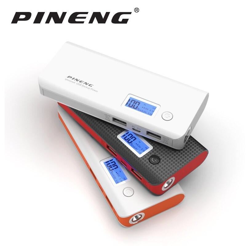 bilder für Pineng Energienbank 10000 mAh Externe Batterie Bewegliche Schnelle Ladegerät Dual USB LED für iPhone 6 s 7 Plus Samsung LG HTC Xiaomi