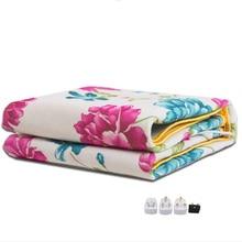 Электрическое одеяло более плотный обогреватель двойной подогреватель тела 150*120 см подогрев одеяло Термостат Электрическое отопление одеяло электрическое Отопление