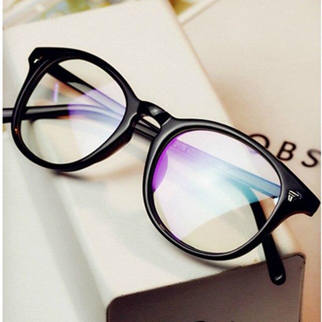 307c3fefa3 2018 Brand Design Vintage Eyeglasses Female Male Degree Optical Clear Lens  Eye Glasses Women Men Eyewear Frames spectacle frames