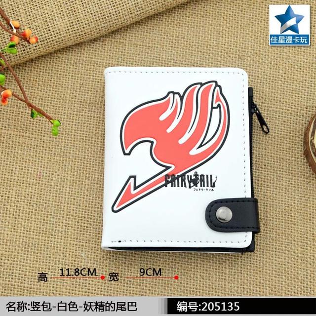 The Logo of Anime Fairy Tail Association PU White Zero Wallet