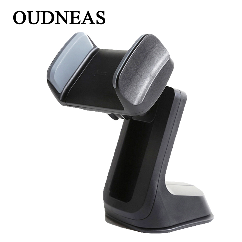 OUDNEAS Car Holder for iPhone 5 6 7s Plus X Mobile Phone Holder Stand 360 Degree Rotation for Samsung Cell Phone Mount