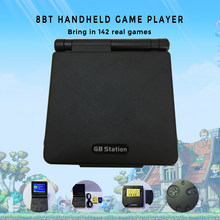 GB Station Handheld Game Console Boy Retro Mini Built in 142 Games Portable Video Gaming Consoles Player 2.7'' LCD 8 Bit Gifts(China)