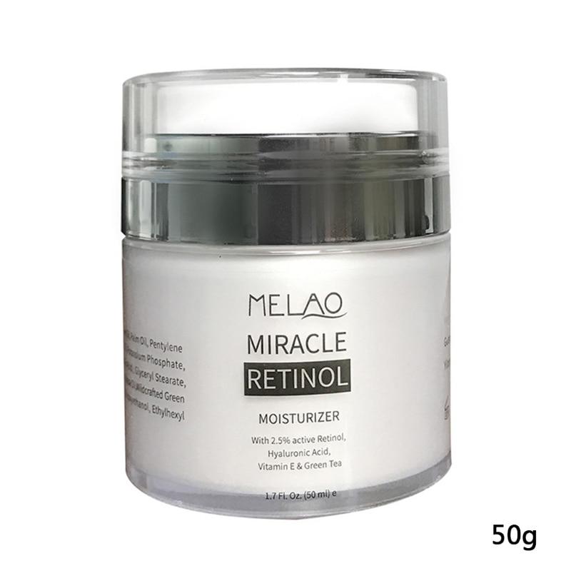 1 Pc / 50g Organic Retinol Moisturizing Face Cream Vitamin C Whitening Anti Aging Wrinkles High Quality  Face Cream|Facial Self Tanners & Bronzers|   - AliExpress