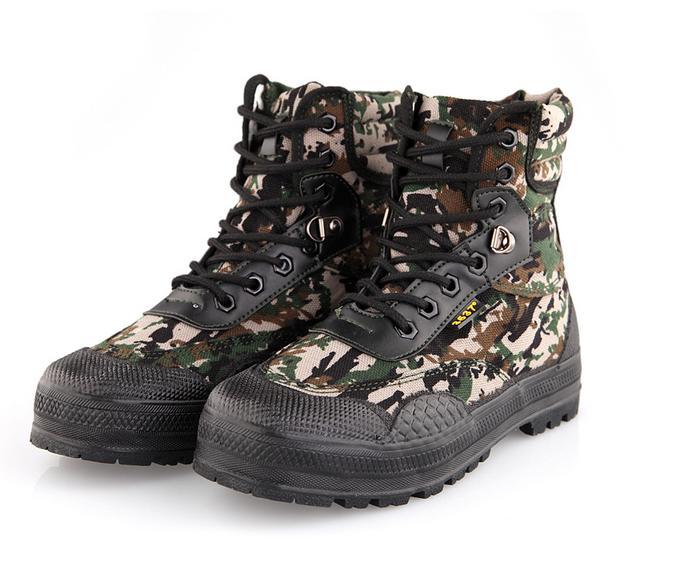 Tactique Bottes Marais Combat Militaire De Jungle Chaussures Chasse Boue En Hommes Camouflage Plein Air 7T6Pw