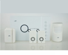 HOMSECUR Wireless&wired GSM Home Security Fire Alarm System+PIR Sensors+ door Sensors купить недорого в Москве