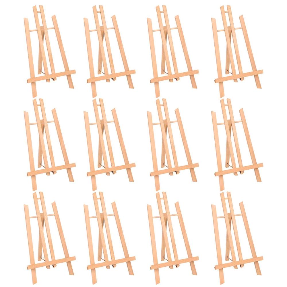 MEEDEN 16 Tall Tabletop Easel - Medium Tabletop Display Wood Easel, for Kids Artist Adults Students Classroom/Parties PaintingMEEDEN 16 Tall Tabletop Easel - Medium Tabletop Display Wood Easel, for Kids Artist Adults Students Classroom/Parties Painting