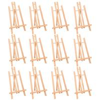 MEEDEN 16 Tall Tabletop Easel Medium Tabletop Display Wood Easel, for Kids Artist Adults Students Classroom/Parties Painting