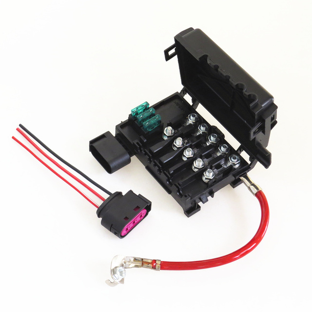 Seat Leon Battery Fuse Box : Aliexpress buy tuke new battery circuit fuse box