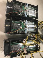 Lapsaipc Bitcoin AntMiner S7 4.73Th/s Machine Miner ASIC BTC Bitmain Mining Machine With Power Supply In Stock Used