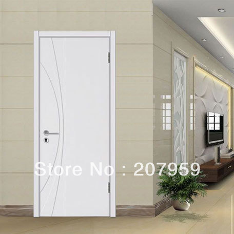 Luxury White Solid Wood Interior Door For Entrance Doors Design In Doors  From Home Improvement On Aliexpress.com | Alibaba Group