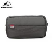 Kingsons Waist Pack for Men Fanny Pack green leaves Style Bum Bag Women Money Belt Travelling Mobile Phone Bag