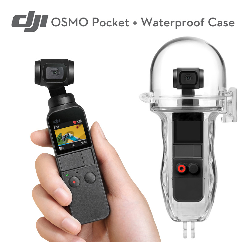 DJI Osmo Pocket 3 axis stabilized handheld 4K camera with Portable Waterproof Case For DJI OSMO