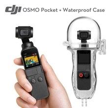 DJI Osmo карман 3-осевая стабилизированная handheld 4K Камера с Портативный Водонепроницаемый чехол для DJI OSMO спортивные Камера