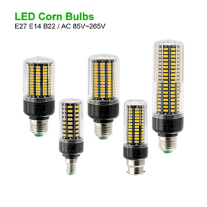 ANBLUB 5736 SMD Real Power No Flicker No stroble 3W 5W 7W 9W 12W 15W 20W LED Corn lamp E27 E14 B22 Bulb 85V-265V Light For Home