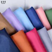 Color More 100 Polyester Cloth Silk Fabric Telas Por Metros Tecidos Para Roupa Suitable For A
