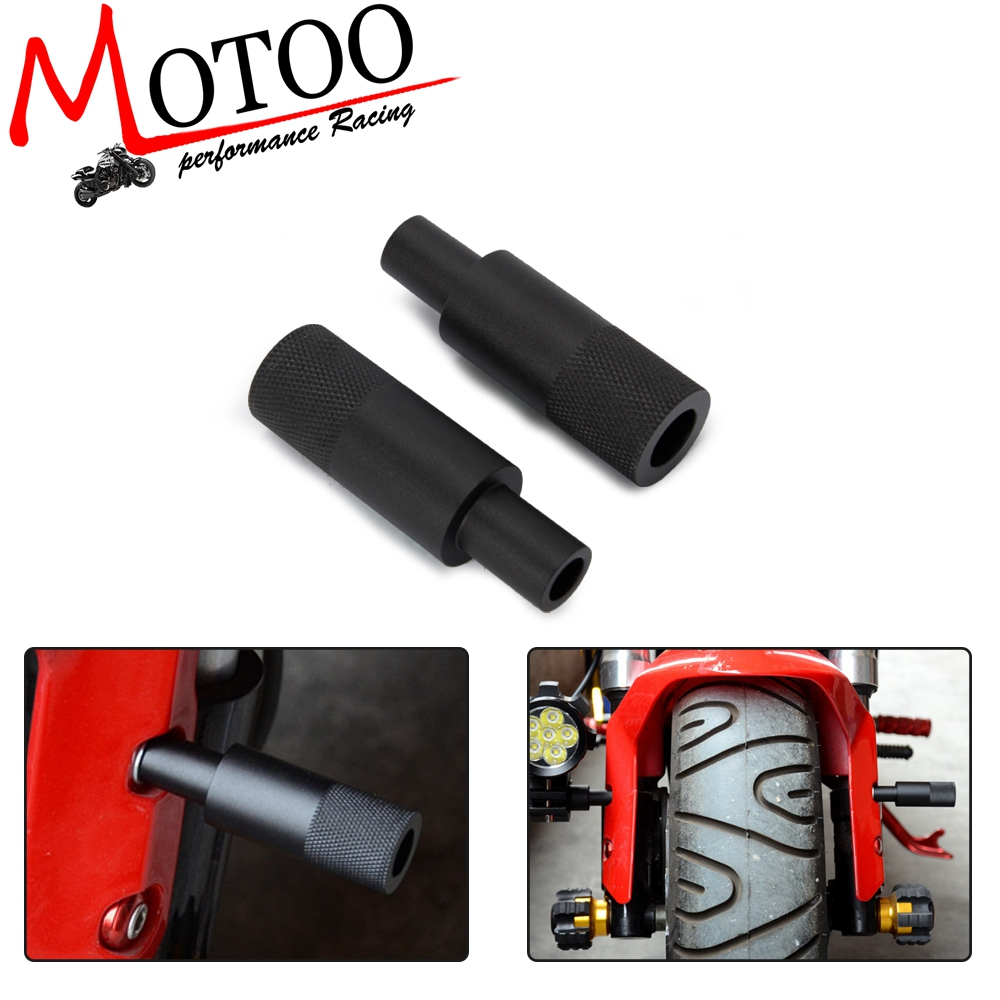 2 Sets Folding Adjustable Motorcycle Headlight Bracket Mount Bike Sport Tail Light Holder Eliminator For Honda Ect