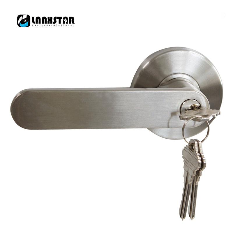 With Key Design Classic Stainless Steel Security Door Lock Room ...