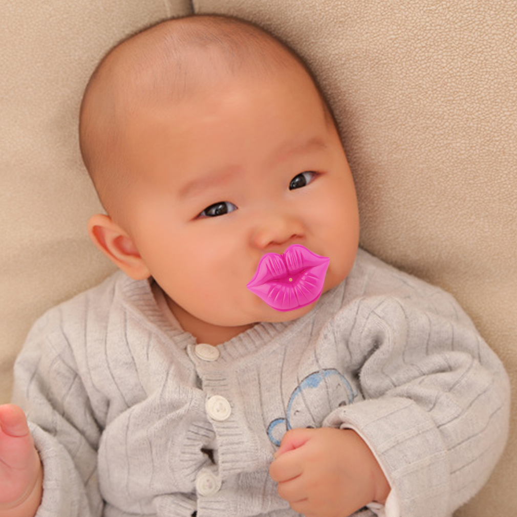 Yks High Quality Silicone Retail Kiss Lip Style Pacifiers Baby Kids Resolution Dummies Pacifier Toddler Safe Nipple Teat Funny 100 Hot New In From Mother On