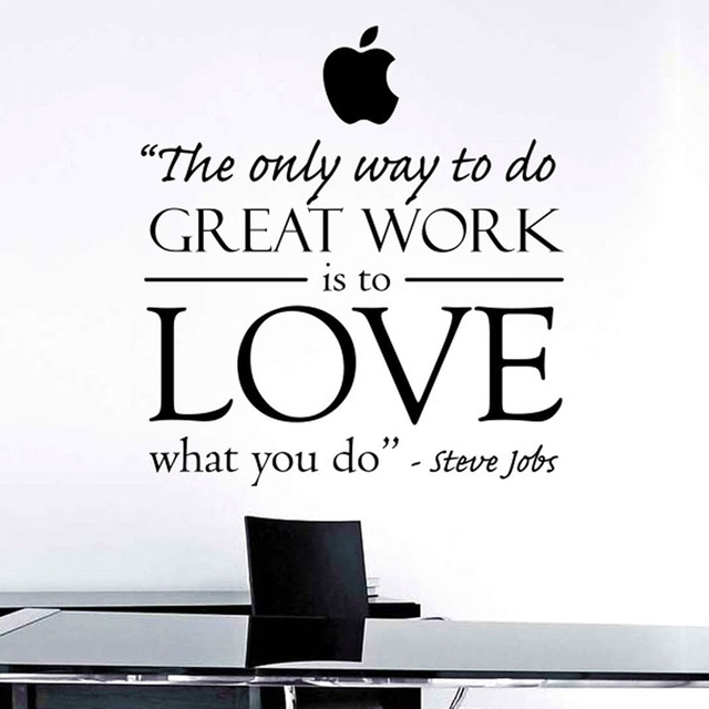 Steve Jobs Inspired Art Decor The Only Way To Do Great