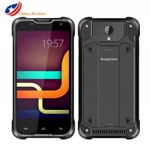 "Guophone V18 4 г LTE IP67 водонепроницаемый 5.0 ""MTK6735 Quad Core Мобильный телефон 2 ГБ + 16 ГБ Android 5.1 8MP OTG GPS 4500 мАч"