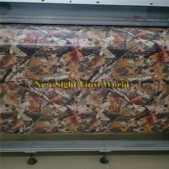 RealTree Camouflage Vinyl Wrap Film Mossy Oak Graphics For Car Sticker Truck Jeep Size:1.50*30m/Roll