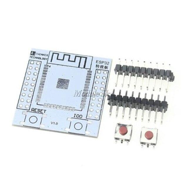5ピースESP-32SピンボードコンバータモジュールESP32Sアダプタボードサポート用ESP-32Sワイヤレスwifi bluetoothモジュール