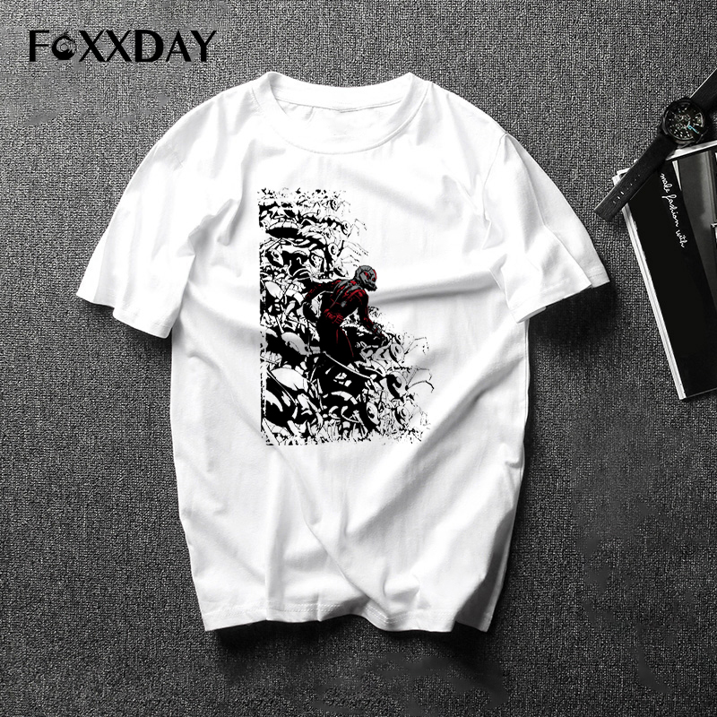 Movie Mens Casual Ant-man Tee Shirts Film Antman t shirt Costume Cosplay Short Sleeve T-shirt Tops 2018 New Arrivals Camiseta
