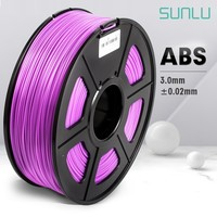 ABS Filament 3.0mm For 3D Printer 100% No Bubble Consumable Material High Quality Plastic ABS Filament For Industry Printing