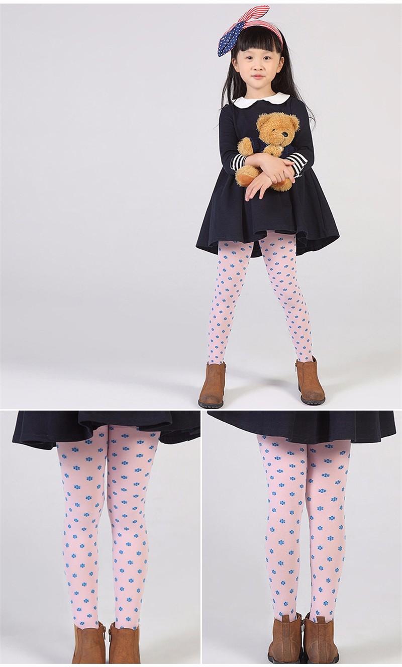 Warm Children Girls Pantyhose  (4)