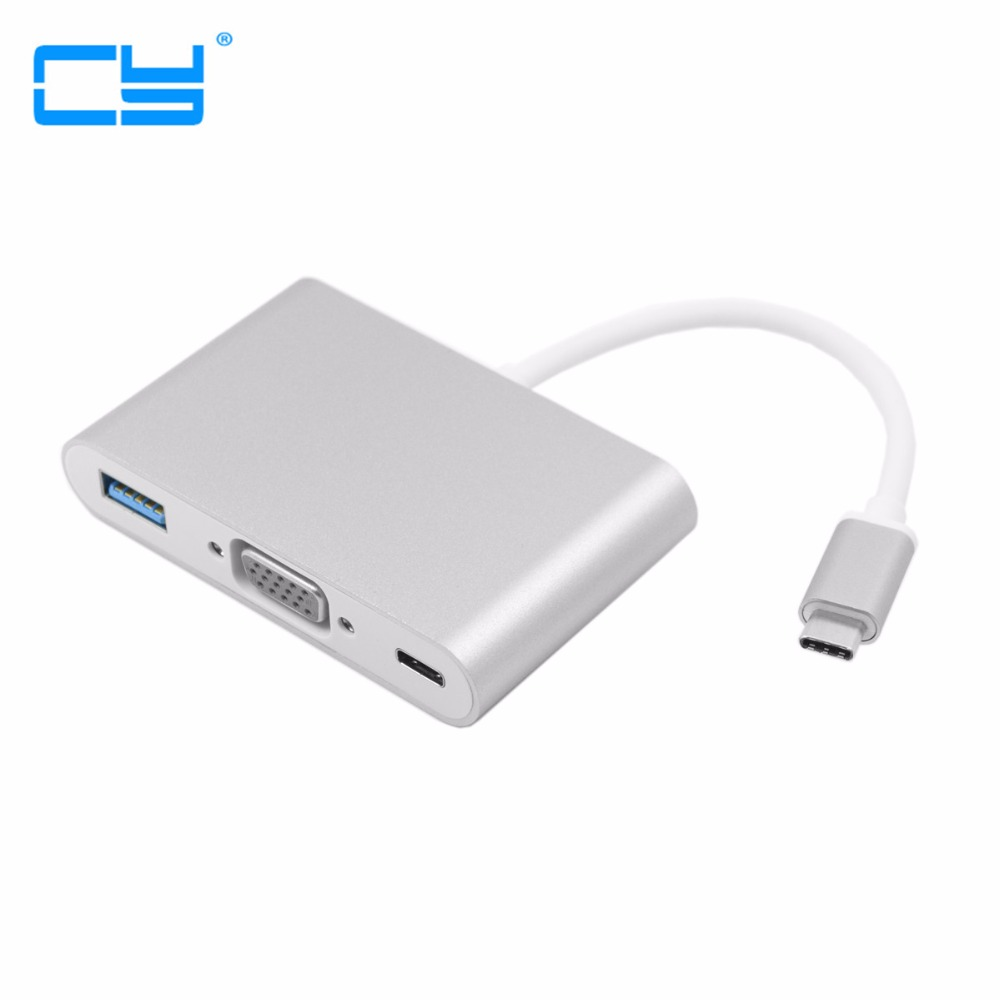 USB-C USB 3.1 Type C to HDMI / VGA Digital AV USB OTG type-c Female Charger Adapter for 12 Apple New Macbook usb type c to hdmi usb c digital av multiport adapter 4k otg usb 3 0 female