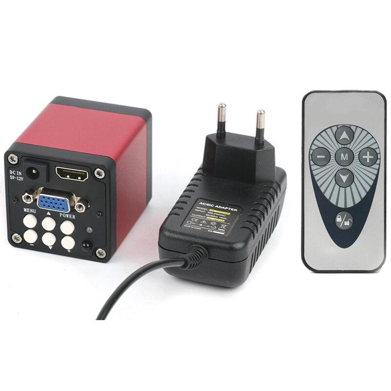 Version améliorée 14MP 720P HDMI caméra de Microscope numérique 1/3 pouces CMOS HDMI VGA en attendant les sorties pour l'inspection de l'industrie