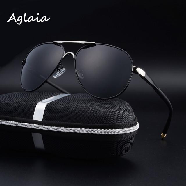 El new fábrica de la venta directa del hombre gafas de sol polarizadas clásicas grandes gafas de marco