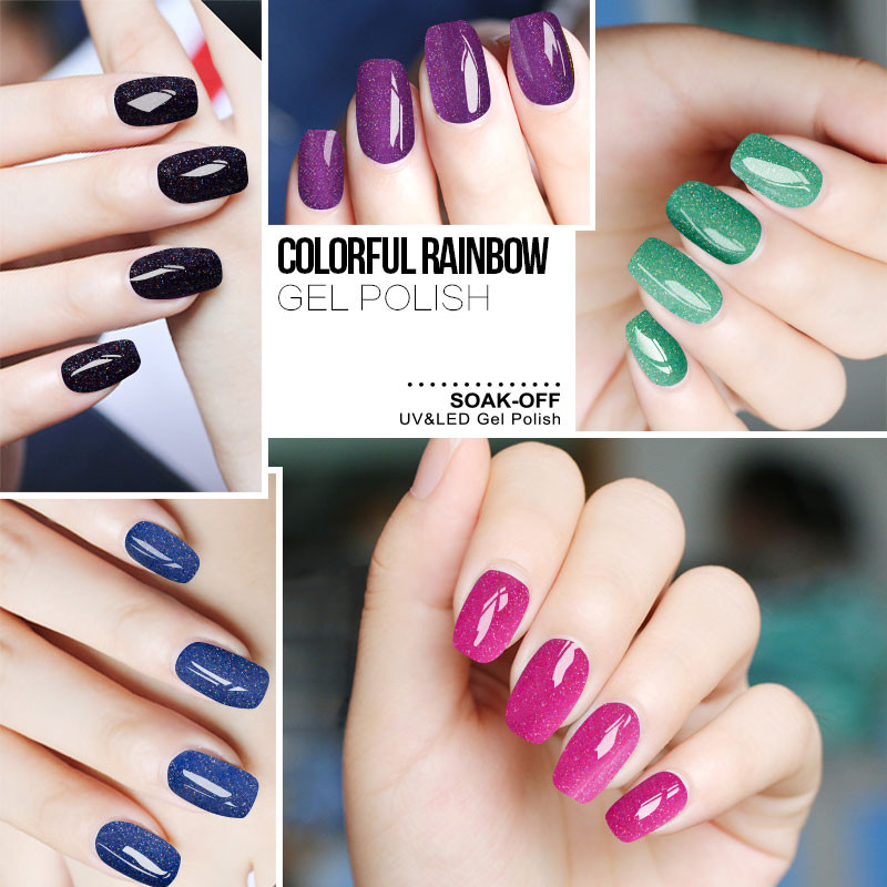 Гель-Лак для ногтей RAIN BOW Soak off Мода 2016 фото