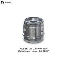100% 0riginal Joyetech MGS SS316L 0.15ohm Coil Head & MGS Triple 0.15ohm Coil for ORNATE Tank 5pcs