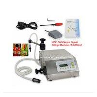 GFK 160 Controle Digital Bomba de Água  óleo  Líquido Máquina de Enchimento (2 3000 ml)|liquid filling machine|liquid filling|machine machine -