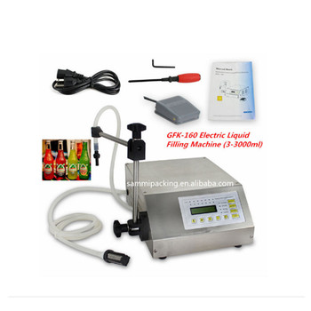 GFK-160 Digital Control Pump Water,oil, Liquid Filling Machine (2-3000ml)