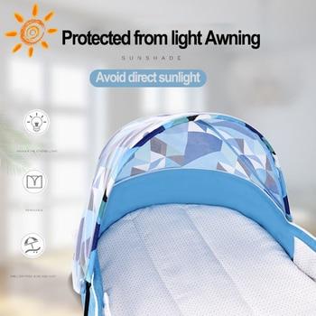 2020 New Baby Travel Portable Crib Nest Child Supplies Newborn Multi-function Folding Bed Chair