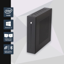 2016 Nueva Celeron j1900 mini pc quad core de la pc sin ventilador con VGA HDMI para 2 lan 6 puerto com soporte windows 10/windows 7/Linux/Ubuntu
