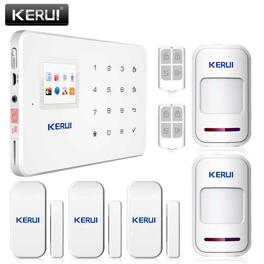 New arrival! High quality KERUI Wireless GSM home alarm ...