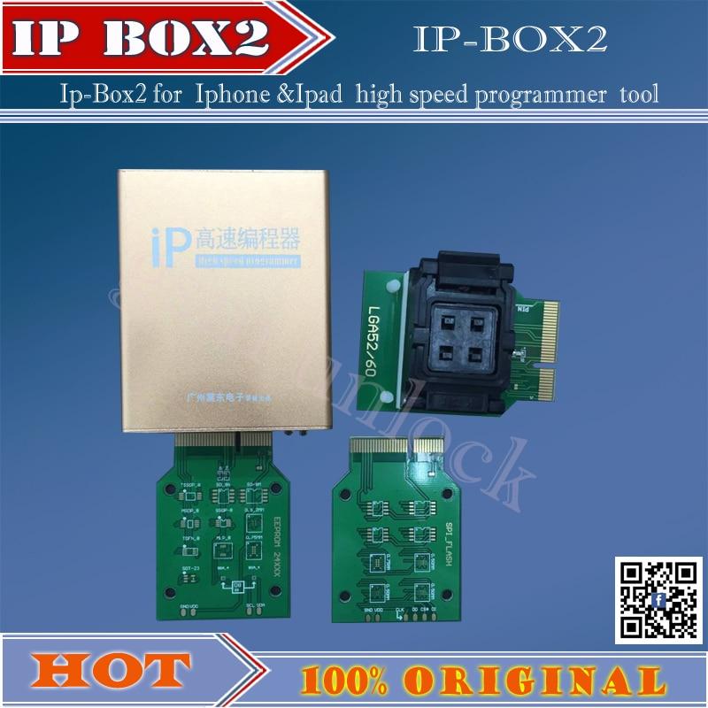 Gsmjustoncct Ip yüksek hızlı programcı kutusu IP-box2 Iphone ve - İletişim Ekipmanları - Fotoğraf 1