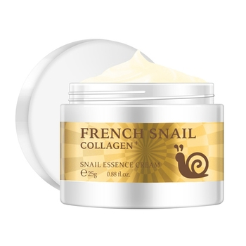 Snail face cream hyaluronic acid moisturizer anti Wrinkl anti aging nourishing collagen serum day cream skin care product 2018