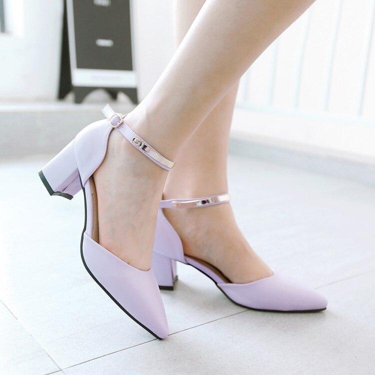 118 Ciel 1 Gladiateur Feminino Femmes Sandales 2017 lavande 43 Style pu Mode Sapato Grande Réel Chaussure rose Chaussures D'été 34 Beige Plus Taille pzMUVqS