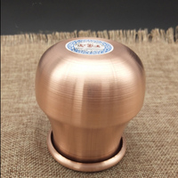 7cm*8cm Mongolian Red Copper Fire Cups Therapy Body Cupping Massage Set acupuncture Medical Vacuum Stress Relief Health Care